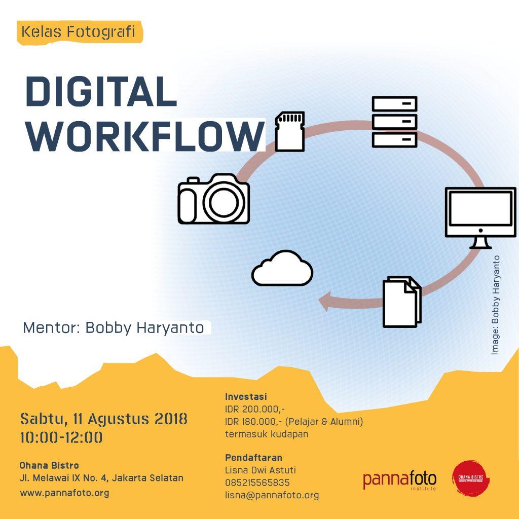 Digital Workflow - Pengarsipan File Foto