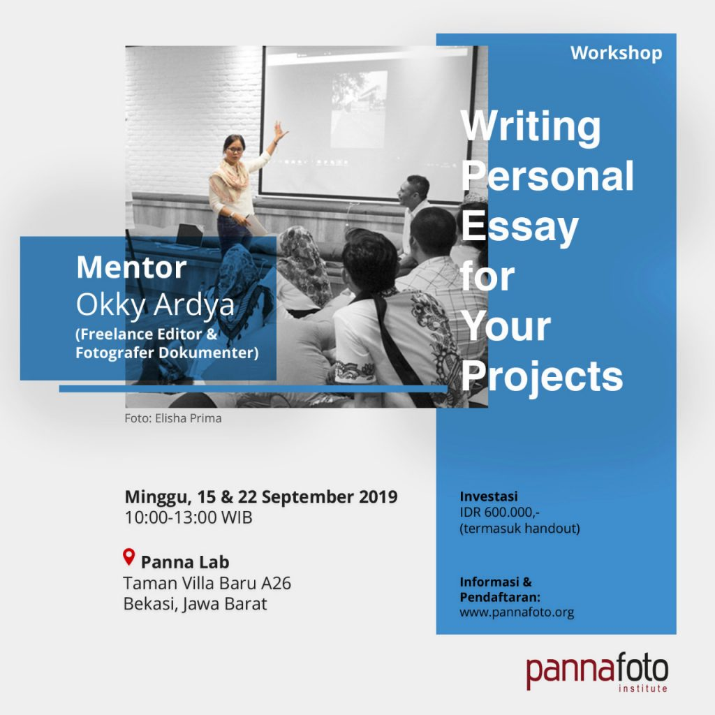 Writing Personal Essay for Your Projects