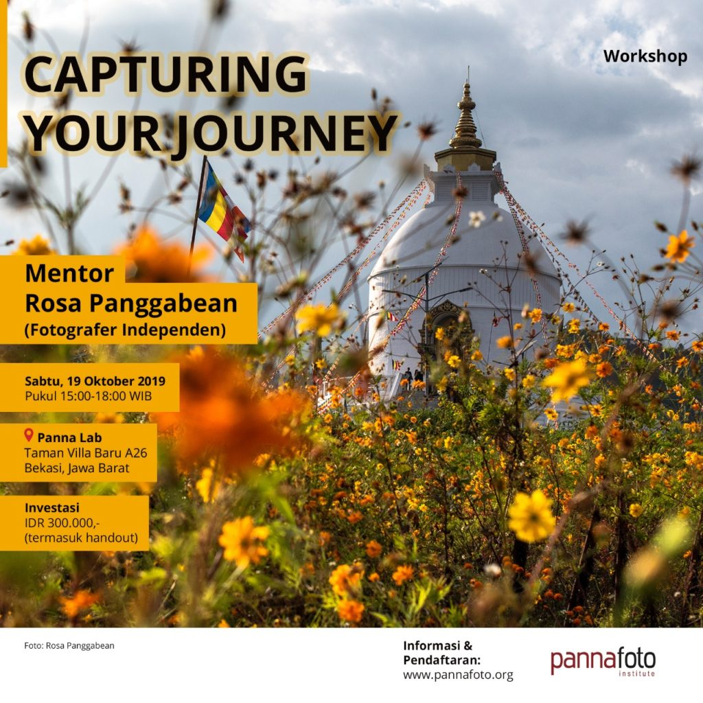 Capturing Your Journey - Rosa Panggabean