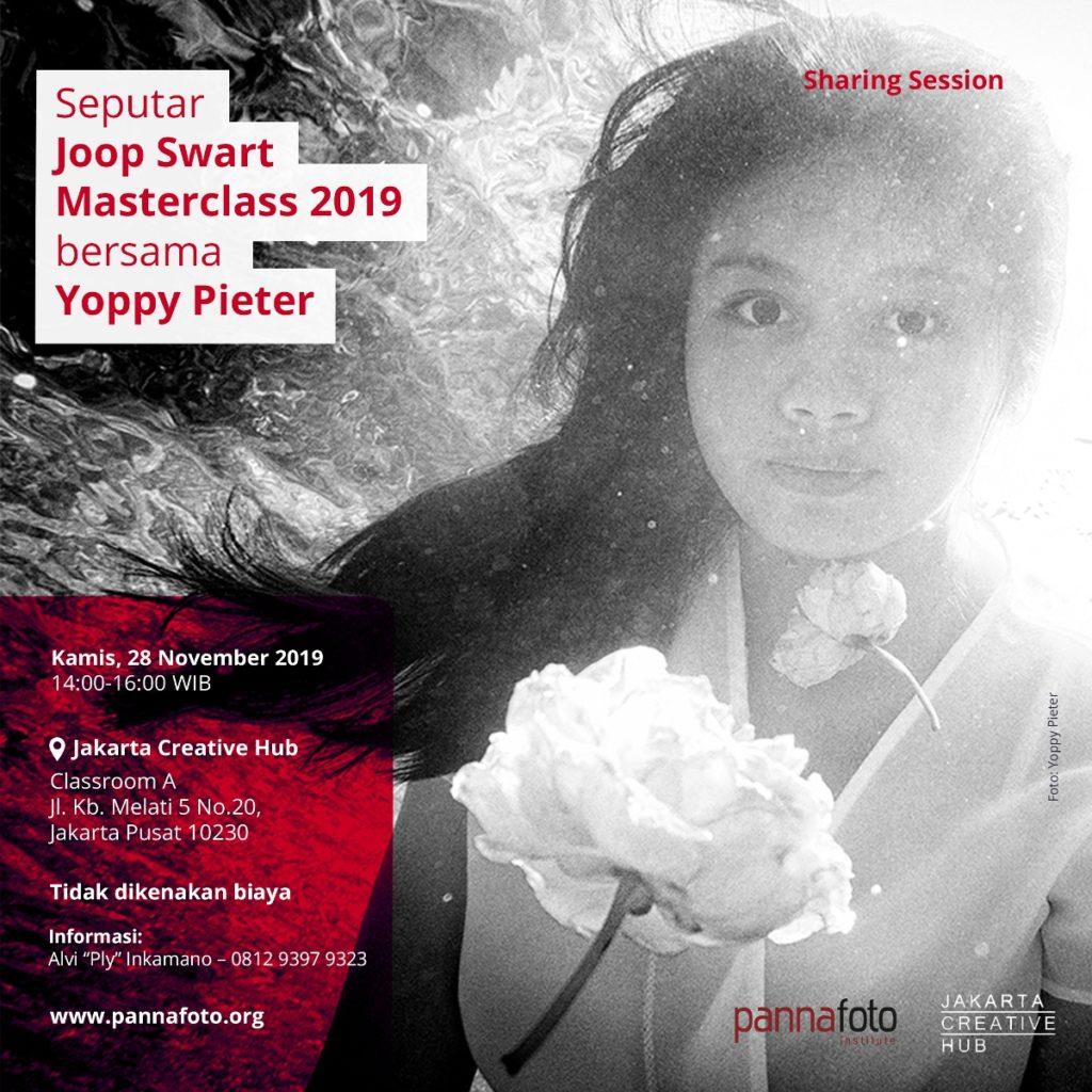 Sharing Session seputar Joop Swart Masterclass 2019 bersama Yoppy Pieter