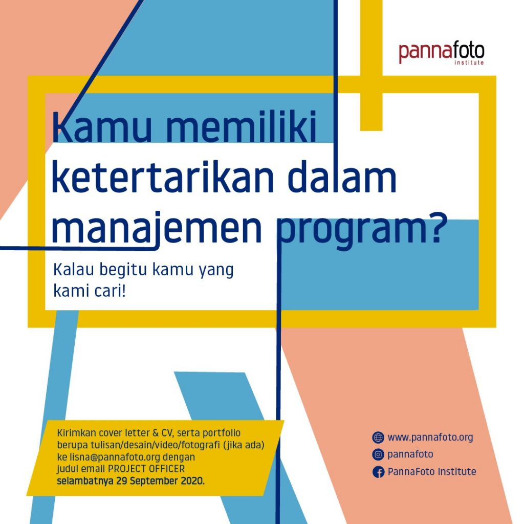 Lowongan pekerjaan: Project Officer