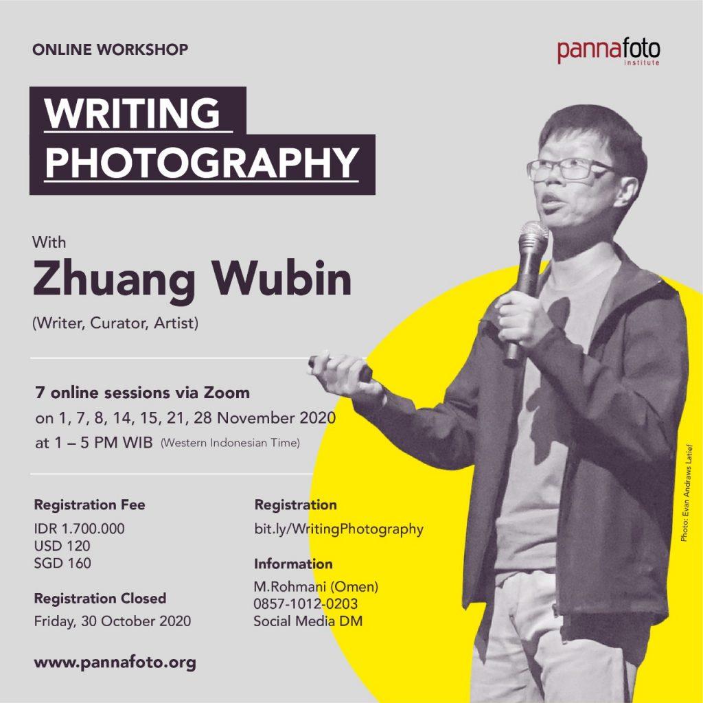 Writing Photography with Zhuang Wubin